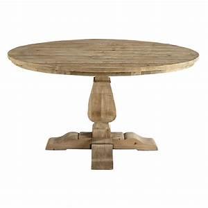 Table Ronde De Salle à Manger : table ronde de salle manger en bois recycl d 140 cm ~ Teatrodelosmanantiales.com Idées de Décoration