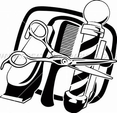 Barber Tools Transparent Clipart Artwork Vector Shirt