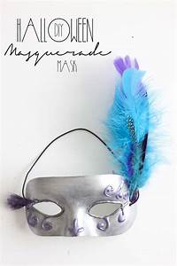DIY Halloween Masquerade Mask - Southern Revivals