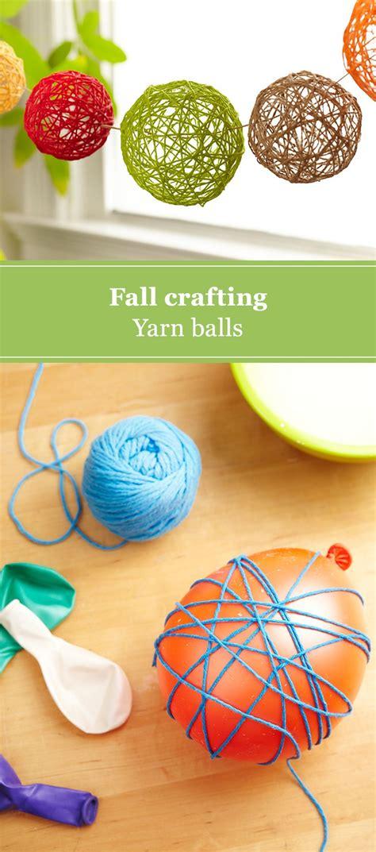 diy yarn balls yarn ball diy crafts  adults easy