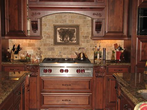 Kitchen Tile Backsplashes Brick Backsplash Interior