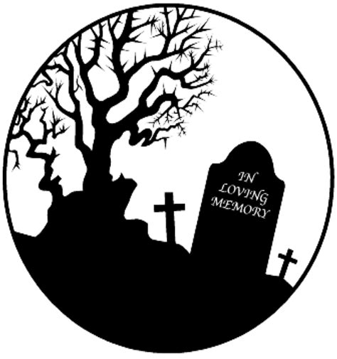 tombstone template printable clipart