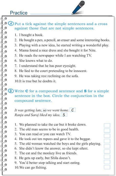 grammar grade  grammar lesson  sentences simple
