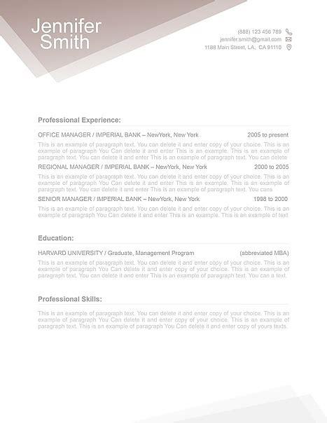 fre resume template free resume templates free resume