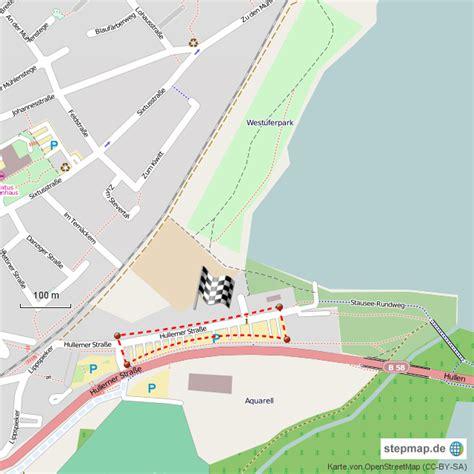 stepmap haltern   wohnmobilstellplatz landkarte