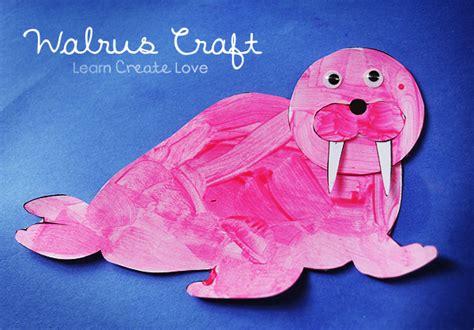 printable walrus craft 824   wal 070