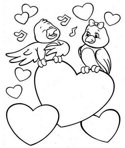 valentine colouring pages  print  getcoloringscom