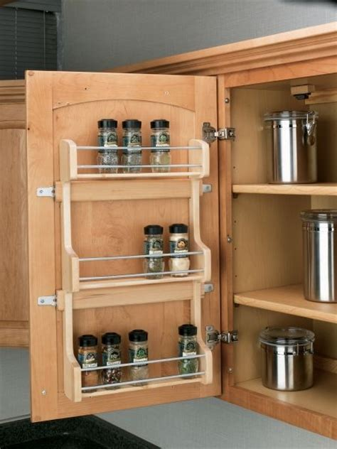 door mount spice rack sr  rev  shelf