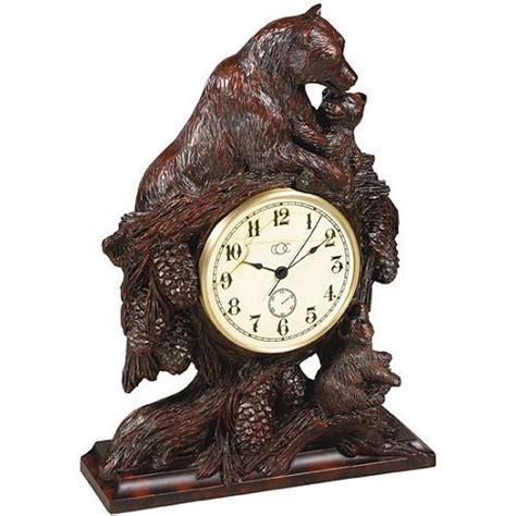 Bear Hugs Desk Clock