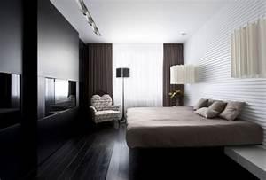 Moderne Wohnungseinrichtung Ideen : neutrale farben pr gen eine moderne wohnung in moskau ~ Markanthonyermac.com Haus und Dekorationen