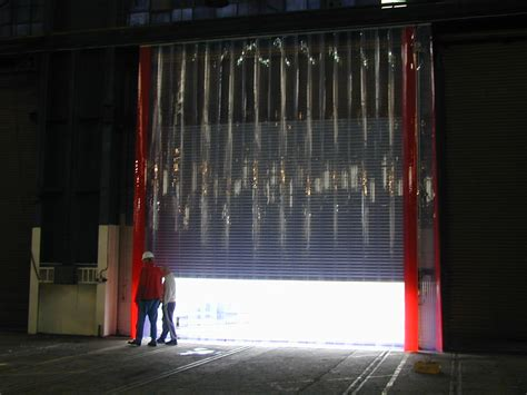 Pvc Curtains In The Commercial Sector