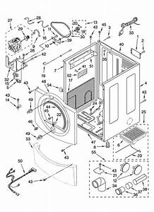 Cabinet Parts Diagram  U0026 Parts List For Model Mgd9700sq0