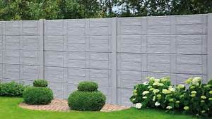 Zaun 150 Cm Hoch : betonzaun zaun aus beton gartenzaun untermauerungen ~ Whattoseeinmadrid.com Haus und Dekorationen