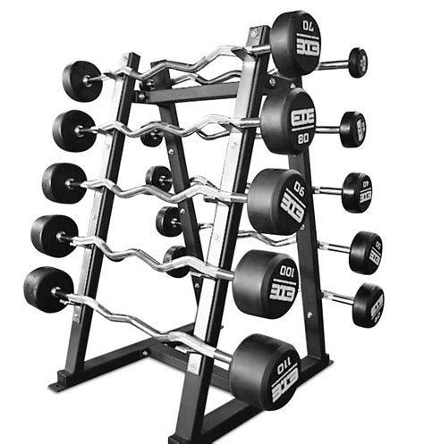 10 Barbell Rack (for 20110lb Rubber Barbell Set) The