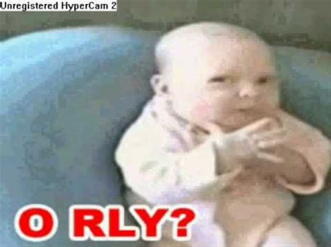 O Really Meme - baby makes the o rly face youtube
