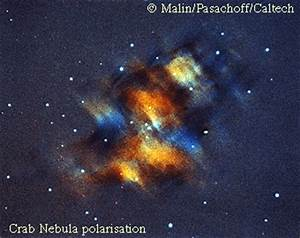 APOD: November 23, 1995 - M1: Polarization of the Crab