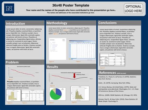 poster template powerpoint  id