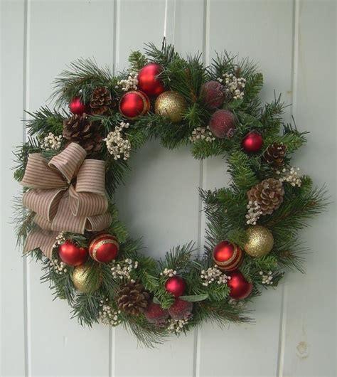 artificial christmas wreaths ideas  pinterest
