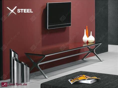 Tv Bank Design by Design Tv Bank Xsteel Jt01n01 Edelstahl Rauchglas