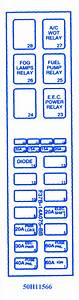 2003 Mazda B2300 Fuse Box Diagram
