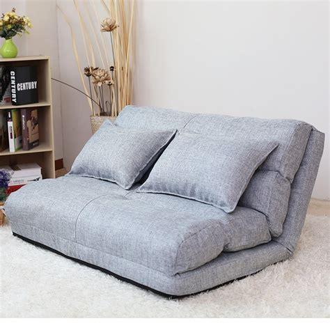 korean style fabric folded sponge floor sofa