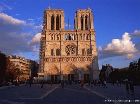 Western Facade Of Notre Dame De Paris, Notre Dame