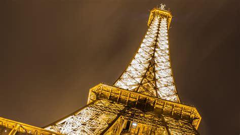 wallpaper eiffel tower night champ de mars paris hd