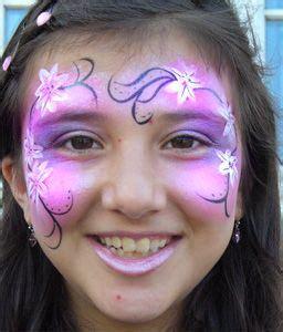 kinderschminken blumen elfe traumgeschichten kinder