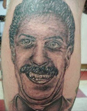 worst examples  portrait tattoos damn cool pictures