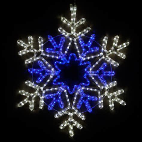 snowflakes stars  led  point star center
