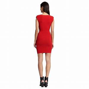 morgan robe tricot sans manches rouge brandalley With robe tricot morgan