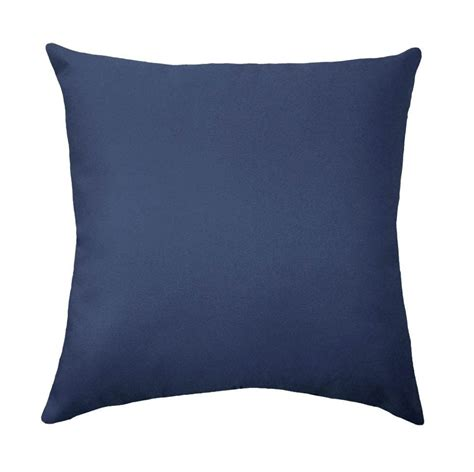 Square Pillows by Premier Prints Solid Blue Lumbar Or Square Decorative