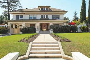 Craftsman Style Porches And Columns by Turn Of The Century Architecture In La Eileen Lanza