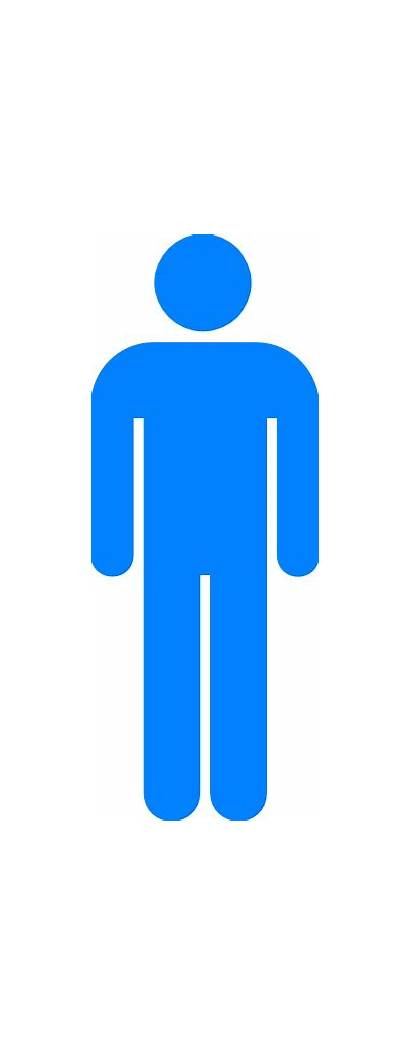 Symbol Person Clip Clipart Vector Outline Clker