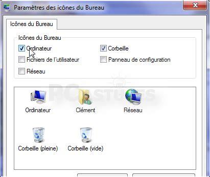 creer un icone sur le bureau ajouter ou retirer des icônes système du bureau windows 7