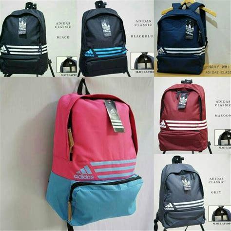 jual tas sekolah tas anak tas ransel adidas backpack terbaru limited di lapak romli