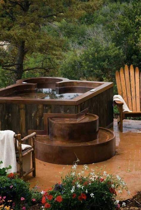 hot tub idea  cabin hot tub hot tub spa hot tubs