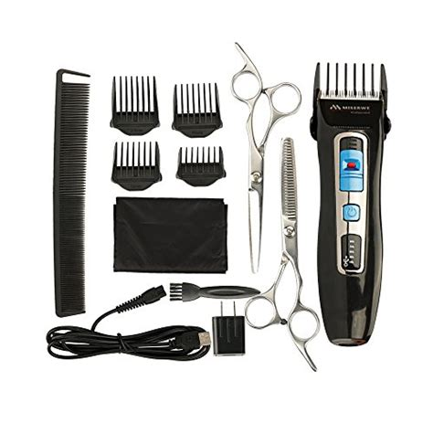 mens pro hair clipper cordless rechargeable trimmer cutting machine