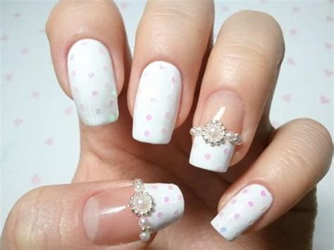 Nail Art For Wedding Ideas : The Best Royal Wedding Nail Art Designs For 2014