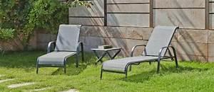 Bain De Soleil En Aluminium : bain de soleil aluminium textil ne sulman set de 2 ~ Teatrodelosmanantiales.com Idées de Décoration
