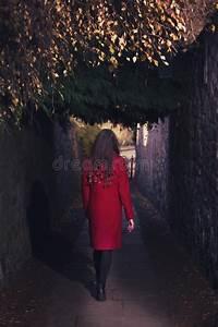 306, Woman, Walking, Dark, Tunnel, Photos