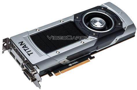titan black nvidia geforce gtx titan black final specifiactions videocardz com