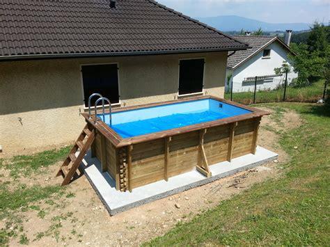 infos sur piscine bois hors sol rectangulaire arts et