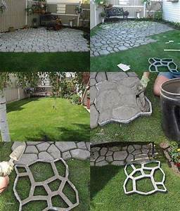 diy outdoor patio ideas cheap home citizen With easy diy patio floor ideas