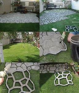 diy outdoor patio ideas cheap home citizen With easy diy patio floor ideas