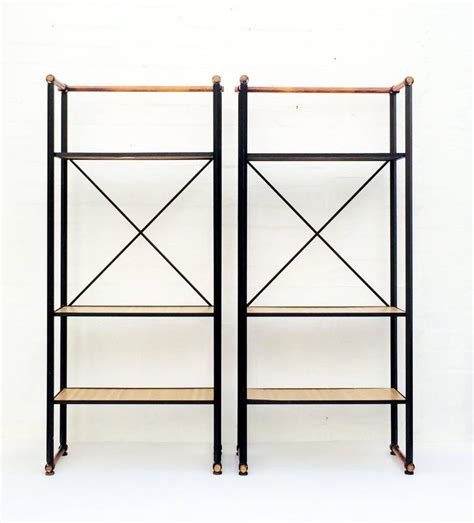 wrought iron etagere pair of wrought iron etageres by cleo baldon for sale
