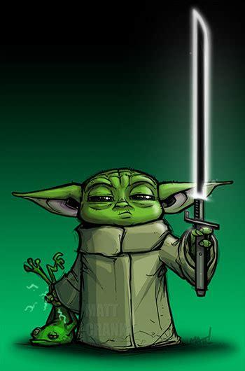 baby yoda  dark saber printkeg blog