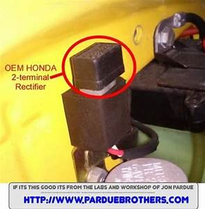 2 Terminal Honda Plugin Rectifier For C70 Cub Or Passport