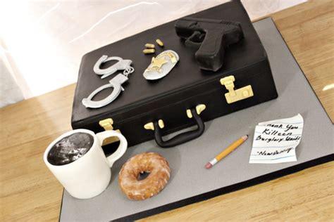 police detective cake cakecentralcom