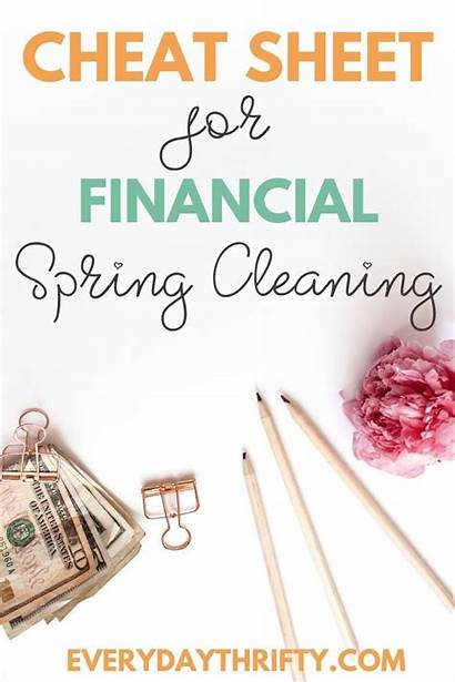 Spring Cleaning Financial